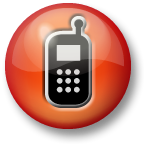 Phone Icon (Red)